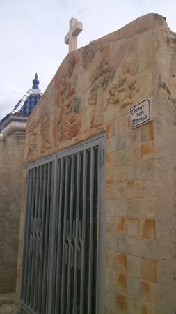 Calle San Ramón del cementerio de Agost