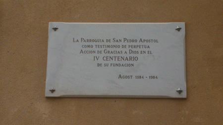 Parroquia de San Pedro Apóstol de Agost