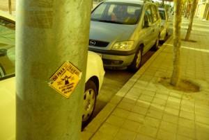 aviso para traficantes, a este barrio no podeis pasar