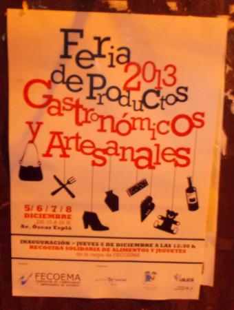 Feria de productos gastronómicos y artesanales