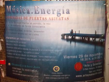 Música y Energía