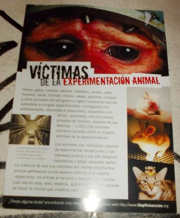 No a la vivisección
