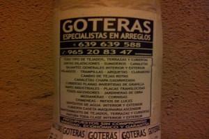 GOTERAS ESPECIALISTAS