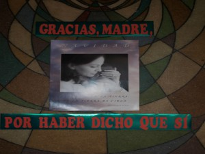 Cartel fotografiado en la Parroquia de Nuestra Señora de la Misericordia el 29/12/2013