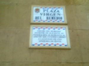 Calle Virgen del Remedio
