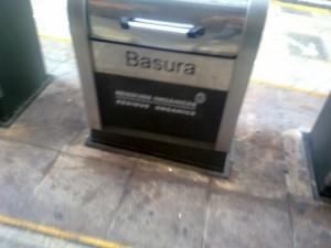 Contenedor de basura de Alicante