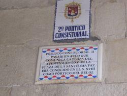 2º portico consistorial (ayuntamiento)