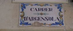 CARRER D'ARGENSOLA