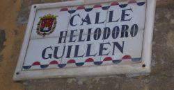 Calle Heliodoro Guillen