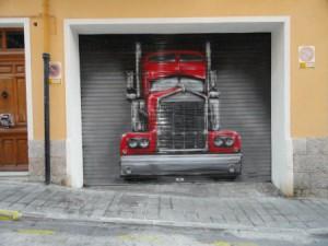 Garaje camión