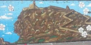 mural azul 2 castillo