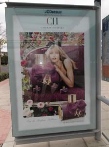 17 anuncio perfumes parada autobus avda denia
