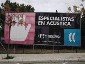30 anuncio empresa de acustica via parque