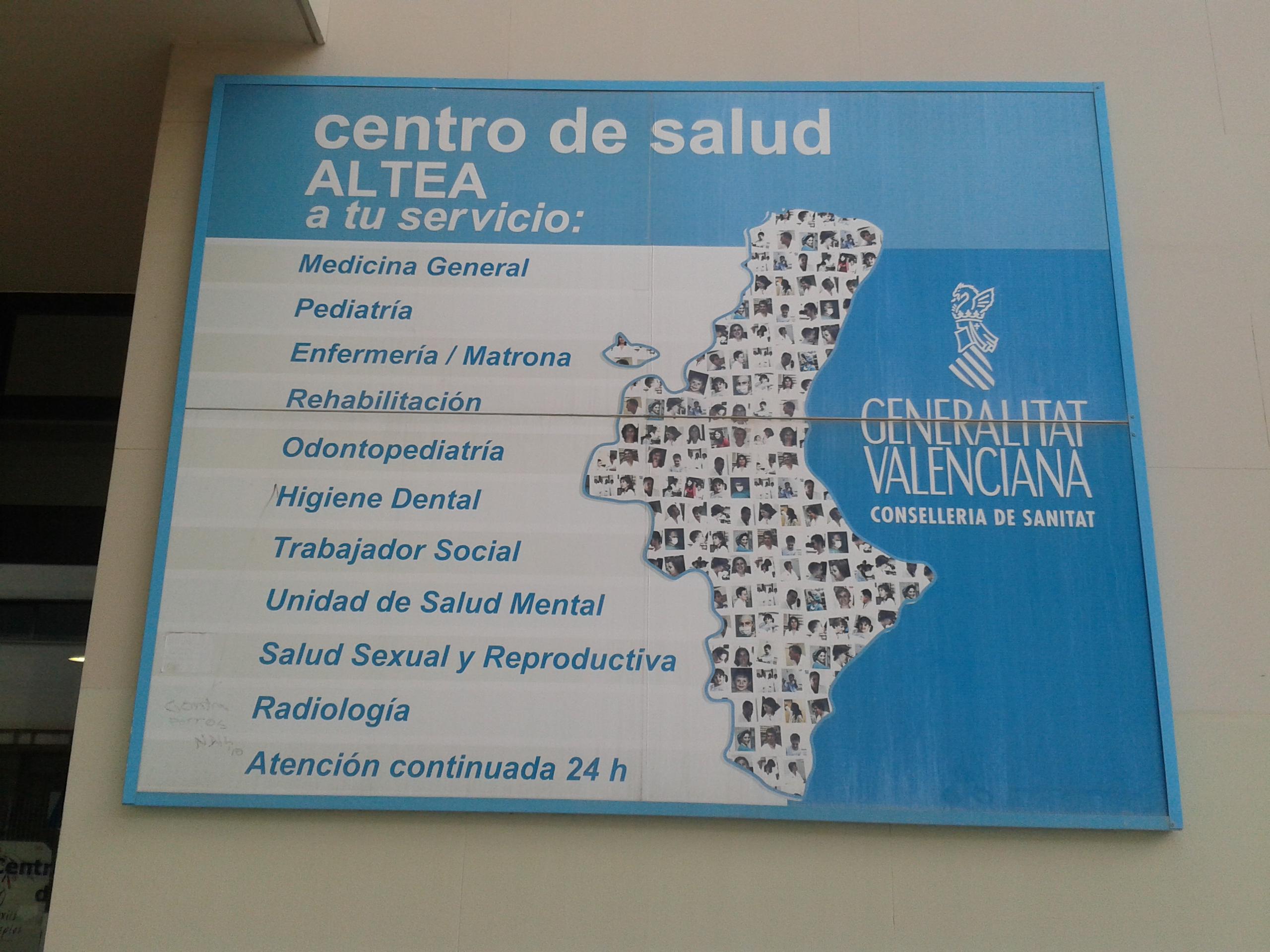 Altea escrituras expuestas en altea - Centro de salud aravaca ...