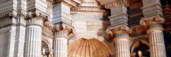 Presbiterio de la iglesia de Santiago Apóstol (detalle), Orihuela