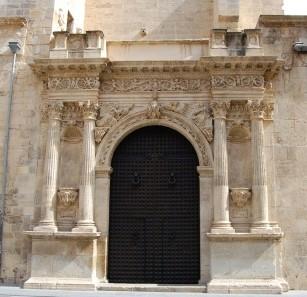 Puerta de la Anunciación, Catedral de Orihuela