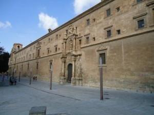 Fachada principal del convento de Santo Domingo