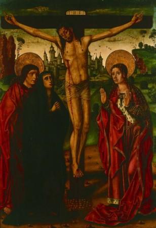 La crucifixión, de Rodrigo de Osona (primer tercio del s. XVI).