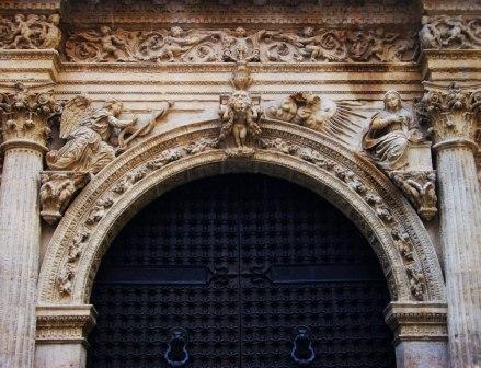 Puerta de la Anunciación (detalle)