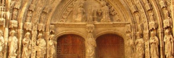 Portada de la iglesia de Santa María (detalle), Requena