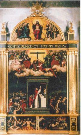 Retablo de las ánimas del purgatorio, Nicolás Borrás (1574)