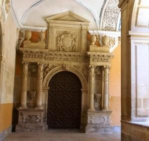 Puerta de la Sacristía, convento de Santo Domingo