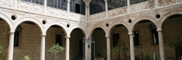 Patio del palacio de los Guzmanes, León