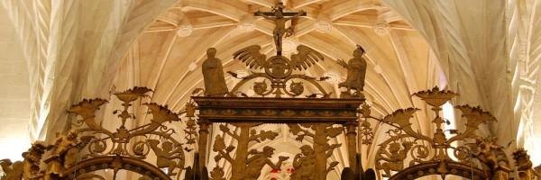 Calvario de la reja de la capilla mayor, Catedral de Orihuela
