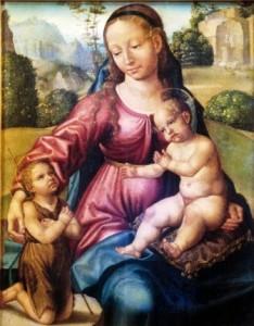 Virgen con el Niño y San Juanito, de Paolo de San Leocadio