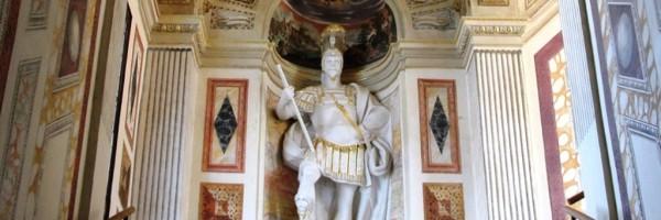 Interior del palacio del Viso del Marqués