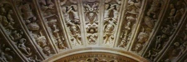 Detalle de la bóveda de la capilla de los Junterones