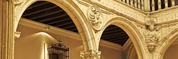 Patio interior del Palacio de Escoriaza-Esquivel (detalle), Vitoria-Gasteiz