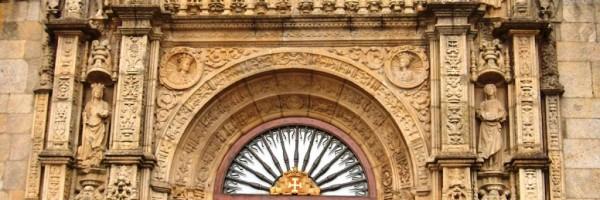 Fachada del Hospital de los Reyes Católicos (detalle), Santiago de Compostela