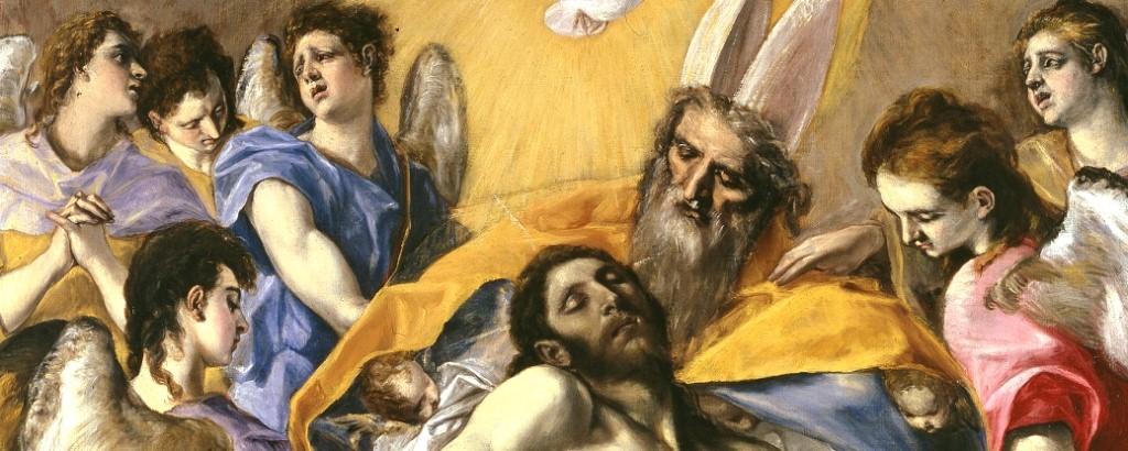 Trinidad (detalle), El Greco