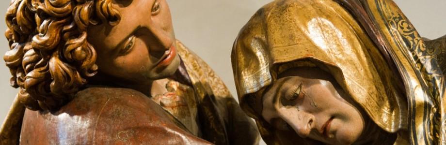 Santo Entierro de Cristo (detalle), de Juan de Juni