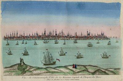 Estambul (o Constantinopla), capital del Imperio otomano