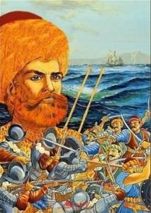 Hayreddín Barbarroja y sus batallas contra los cristianos