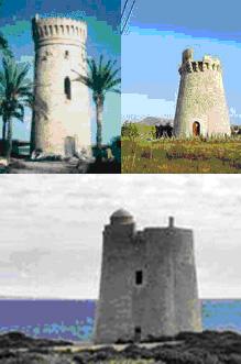 Torres de vigilancia de la costas españolas (paradoxplaza)