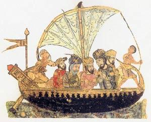 Barco árabe (losviajesdesimbad)