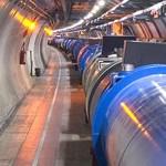 Dentro del tunel (CERN)
