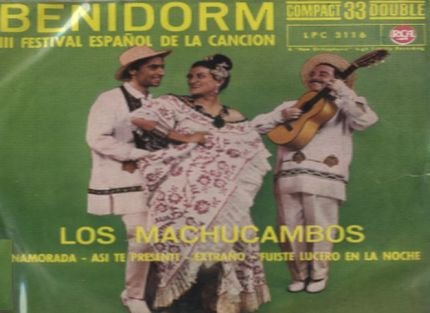 Los Machucambos. Festival de la Cancion de Benidorm 1961