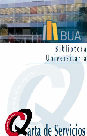 Segunda edición de la Carta de Servicios de la Biblioteca Universitaria