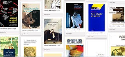 Nuevas incorporaciones en el catálogo bibliográfico de la  UA