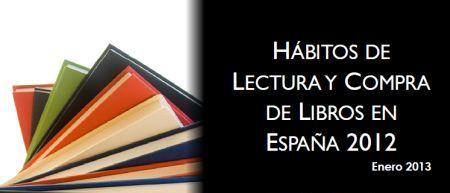 Hábitos de lectura y compra de libros en España 2012
