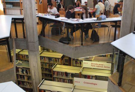 Biblioteca de Derecho. Universidad de Alicante