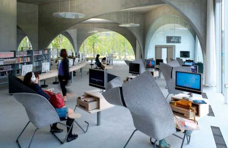 Modern Library By Toyo Ito4