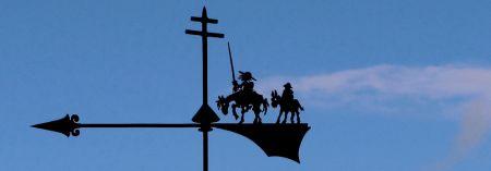Veleta Quijote y Sancho. Por Jacinta Lluch Valero en Flickr