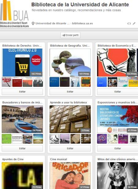 Haz clic sobre la imágen y conoce las últimas incorporaciones a nuestro catálogo por medio de nuestro perfil de Pinterest