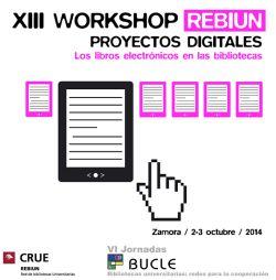XIII Workshop Rebiun