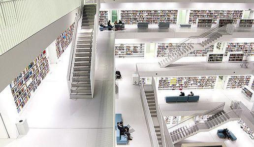 Estugarda-biblioteca